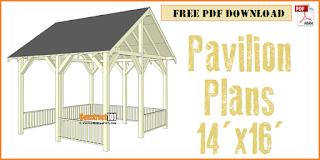 Pavilian plans includes free PDF download.