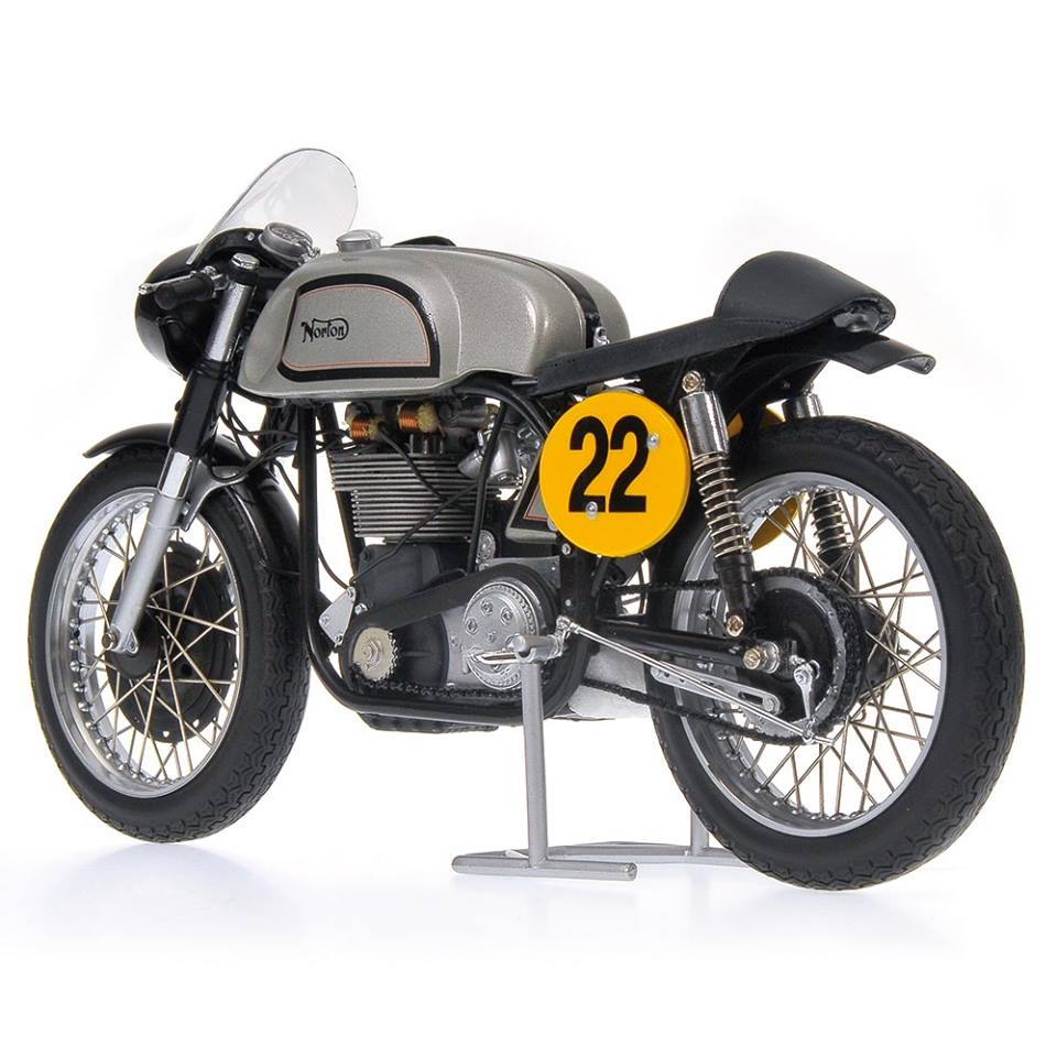 racing scale models norton manx 500 ray petty 1960 by minichamps. Black Bedroom Furniture Sets. Home Design Ideas