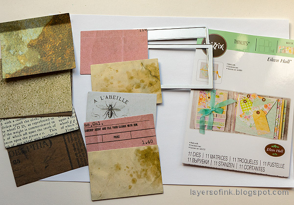 Layers of ink - Waterfall Card Tutorial by Anna-Karin Evaldsson.