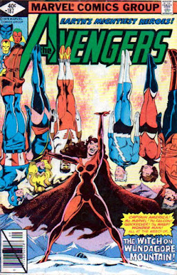 Avengers #187, the evil Scarlet Witch