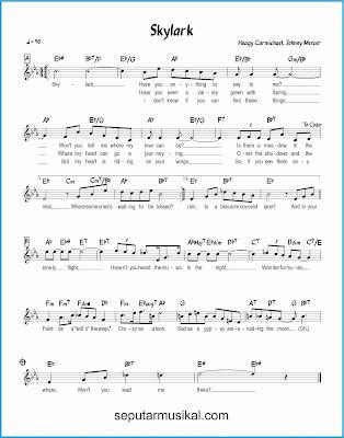 skylark lagu jazz standar