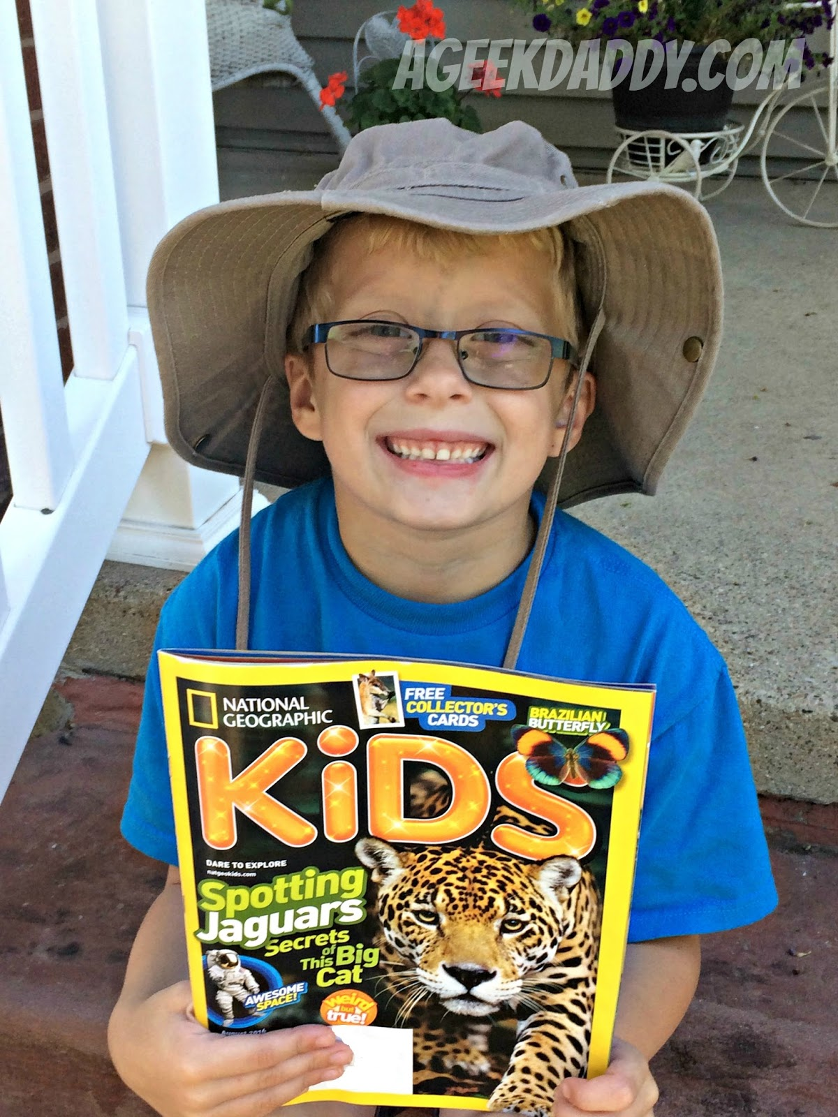 a geek daddy national geographic kids magazine summer issue