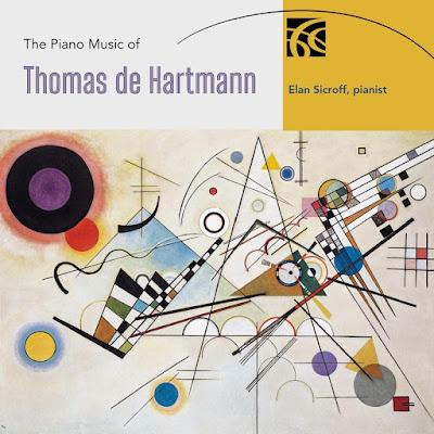The Piano Music of Thomas de Hartmann - Elan Sicroff - Nimbus Alliance
