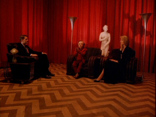 Twin Peaks Red Room Scene