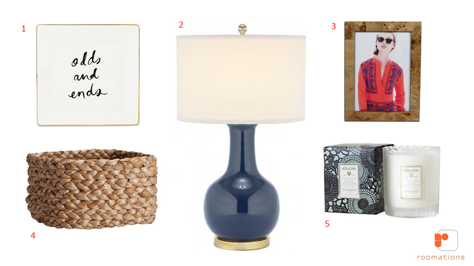 Roomations: Style Board: Bedroom Accessories