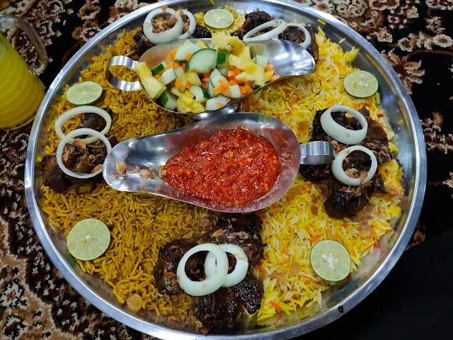 Nasi arab di Amuntai