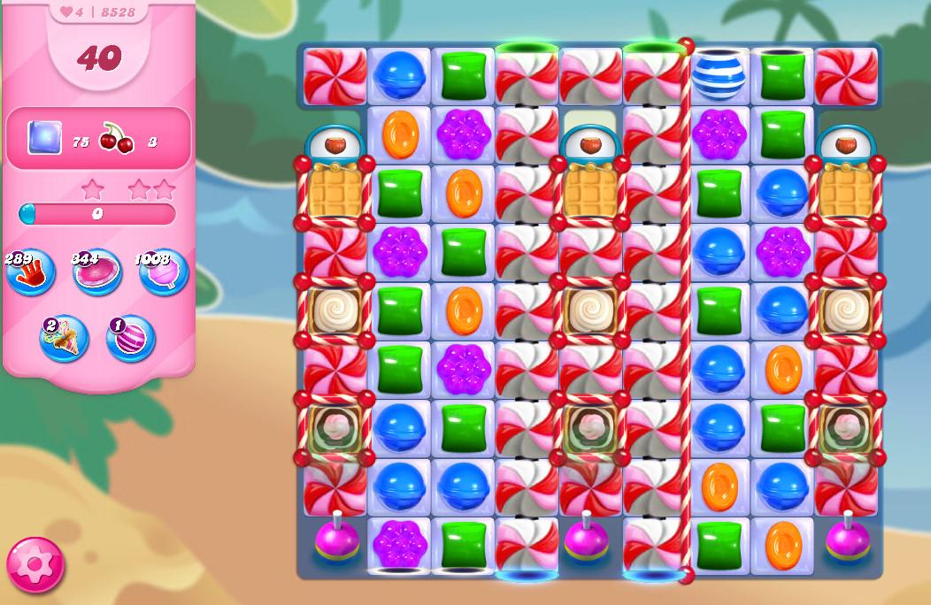 Candy Crush Saga level 8528