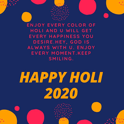 Happy Holi 2020
