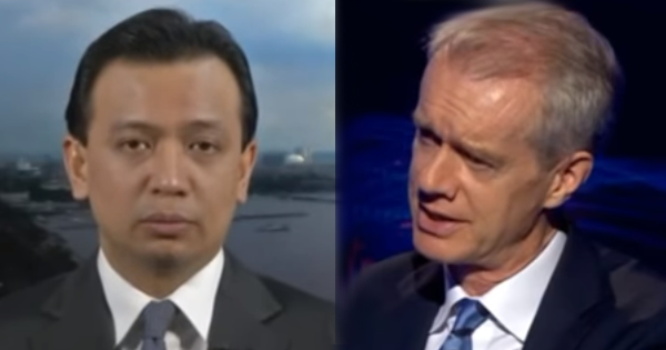 WATCH: Senator Trillanes grilled in 'hard' BBC interview while trying to discredit President Duterte
