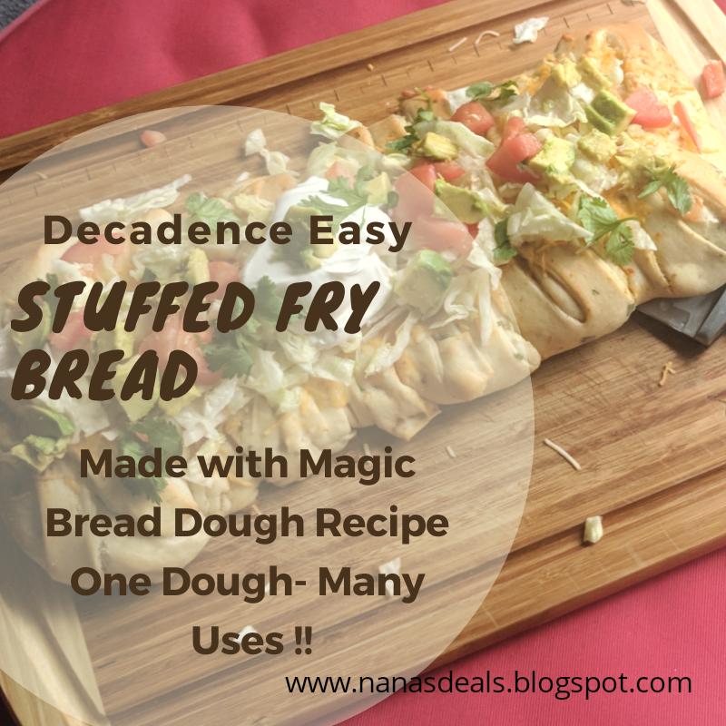 Gypsy Soul Life Easy Quick Stuffed Indian Fry Bread Recipe