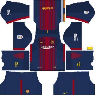 Kit DLS FC Barcelona 2017/2018