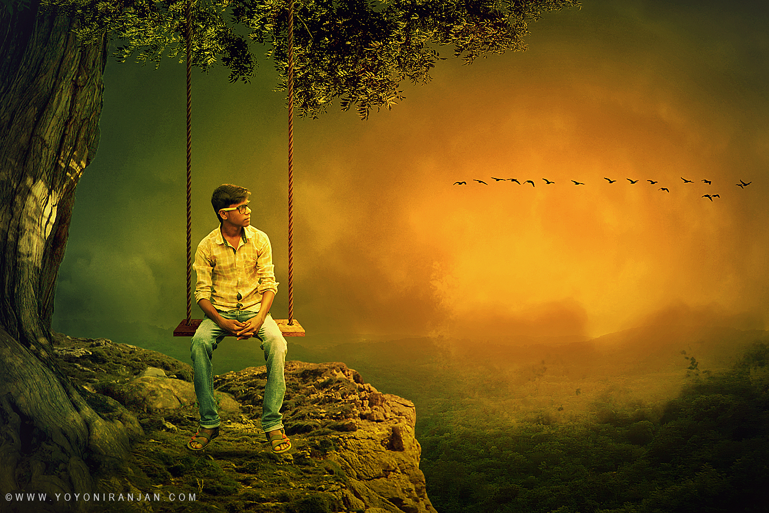 Lonely boy awesome photo manipulation tutorial in photoshop cc lonely boy awesome photo manipulation tutorial in photoshop cc baditri Choice Image