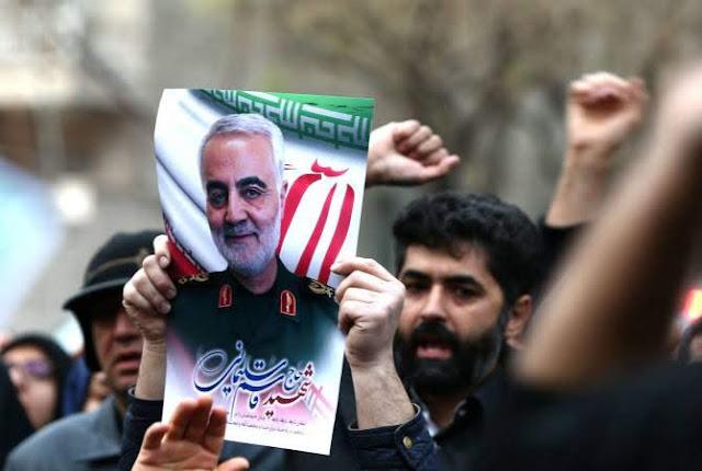 Estados Unidos asesina a Solimán en Irán