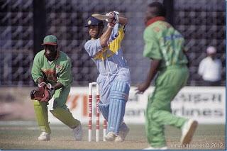 Sachin Tendulkar 127* - India vs Kenya 6th Match Wills World Cup 1996 Highlights