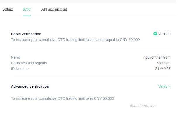 KYC Hoo exchange