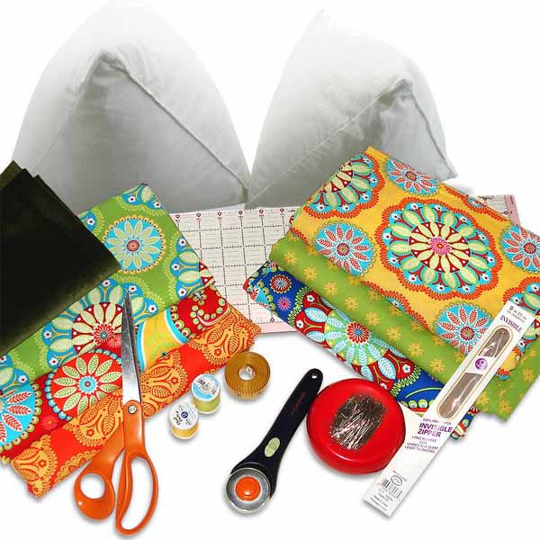 How To Sew An Easy Decorative Pillow Cover ~ Sewing Reviews
