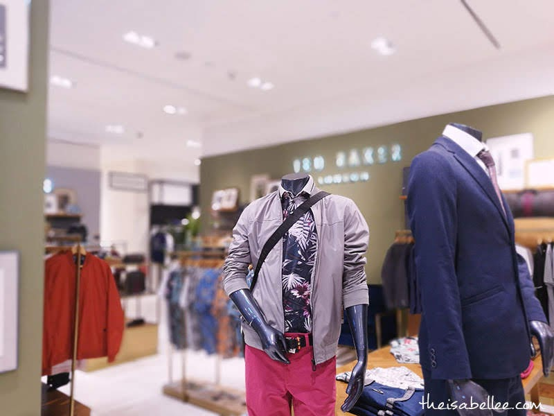 Men's Ted Baker at Robinsons Flagship Store KL
