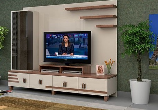 Modern TV cabinets wooden - TV wall units design ideas 2019