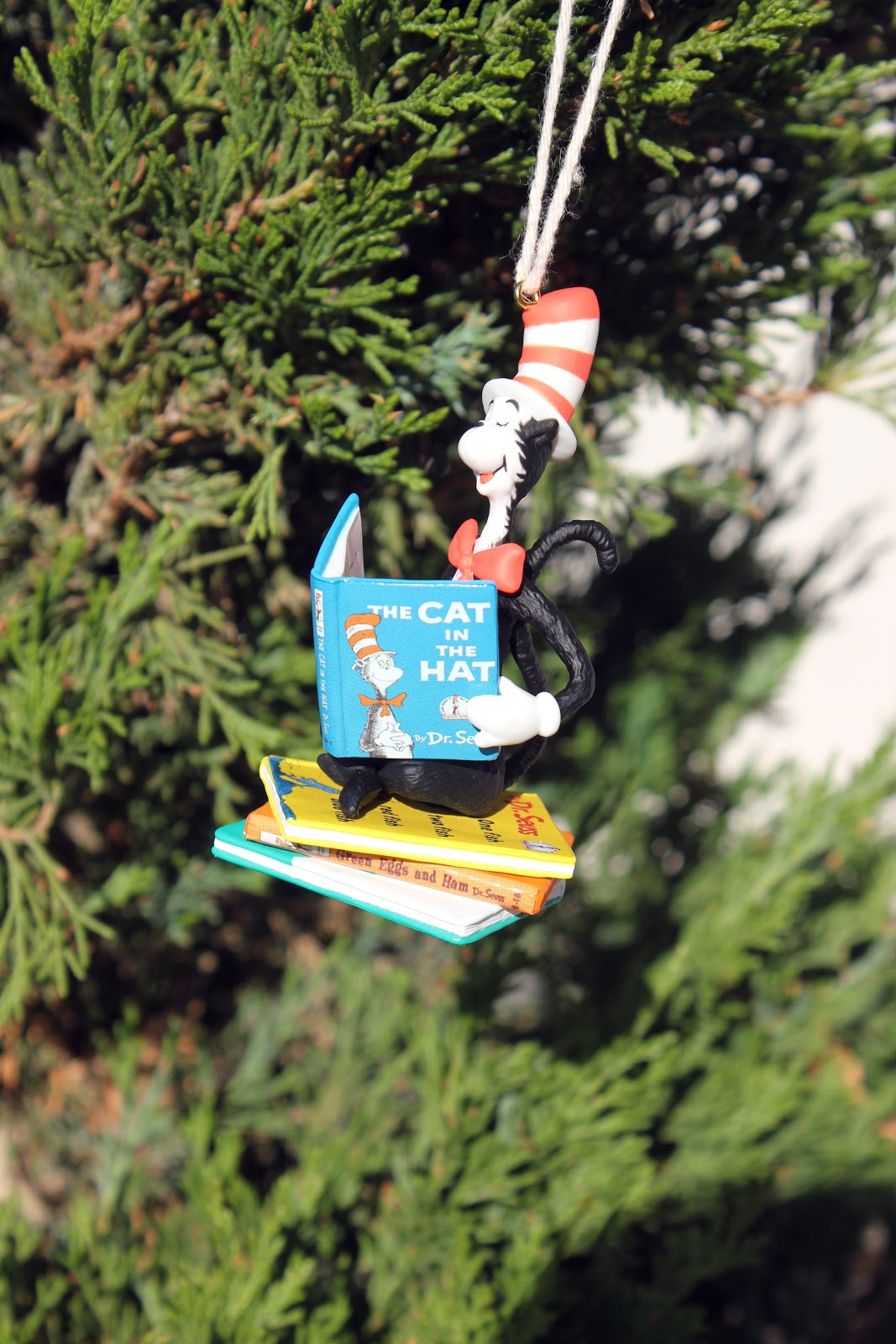 Cat in the hat ornaments - My Parents Started A Tradition Of Giving My Siblings And I An Ornament Each Year Based On Something Big That Has Happened In Our Lives That Year Or