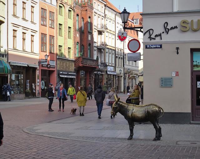 Toruń, wymiany międzyszkolne, zwiedzanie Torunia
