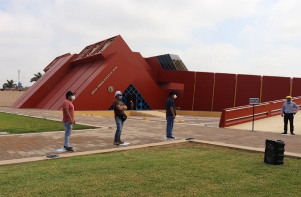 Lambayeque: desde hoy el museo Tumbas Reales de Sipán atiende en horario reducido