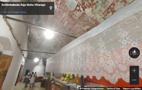 Kottimbulwala cave temple