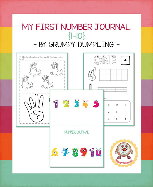 https://www.teacherspayteachers.com/Product/My-First-Number-Journal-1-10-2129462