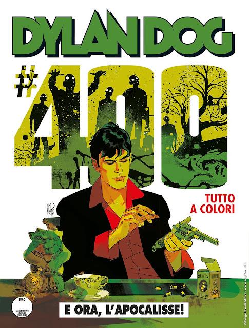 Dylan Dog #400: E ora, l'Apocalisse! (cover di Stano)