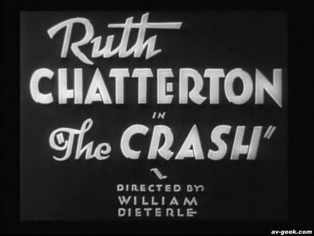 The Crash 1932movieloversreviews.filminspector.com title card