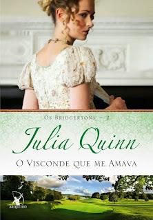Livro - O Visconde que me amava, Julia Quinn