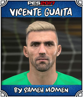 PES 2017 Faces Vicente Guaita by Sameh Momen