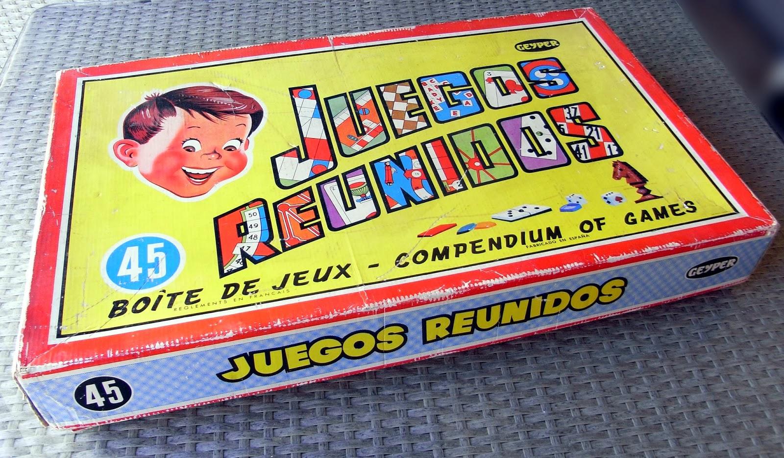 Memorias De Plastico Y Papel Juegos Reunidos Geyper Anos 70