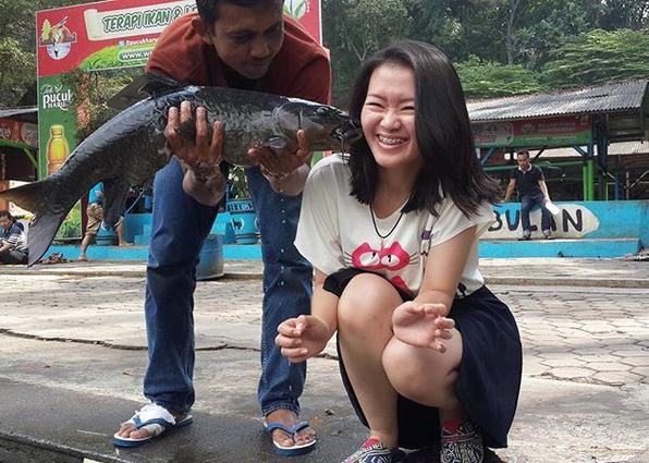Misteri Ikan Dewa Cibulan Jawa Barat