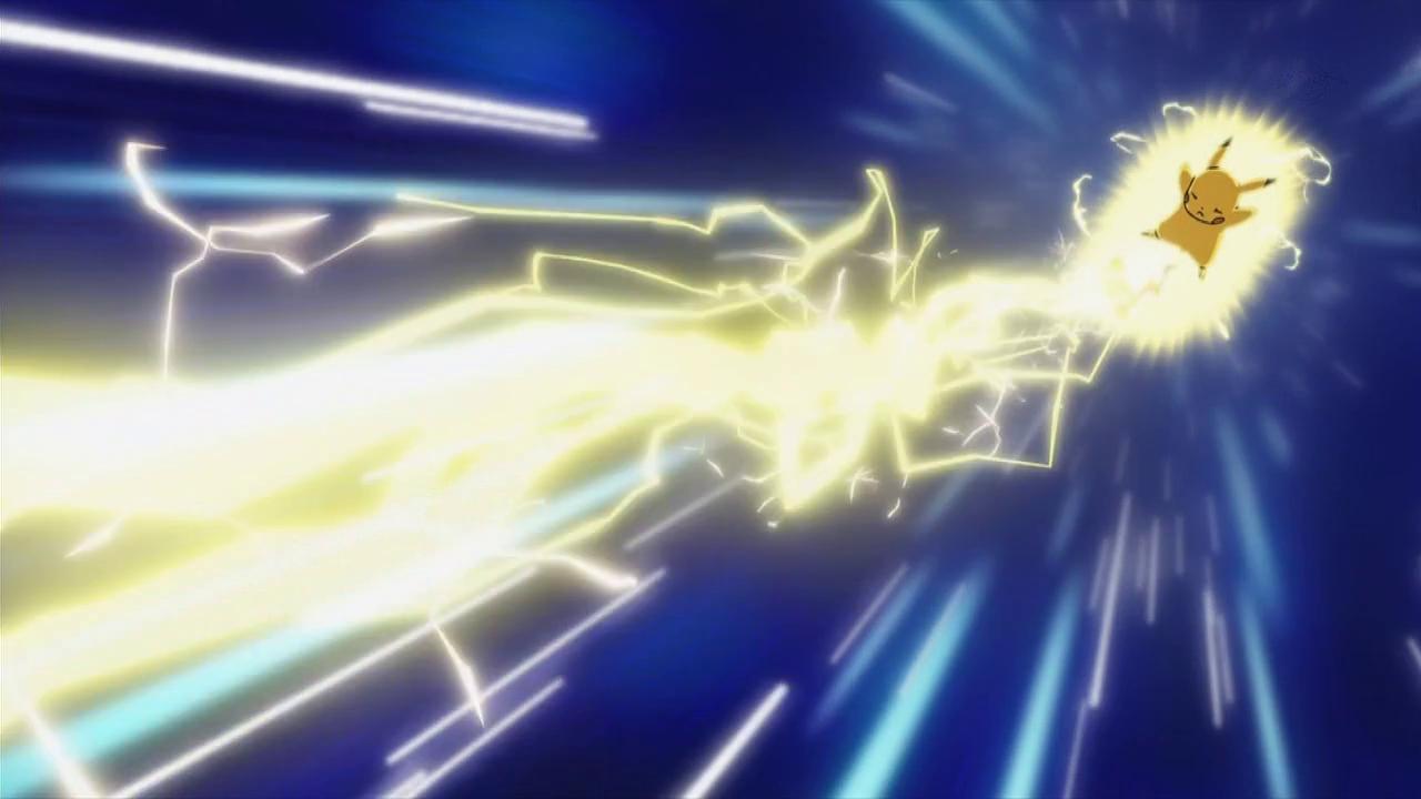 Pikachu Thunderbolt Best Flash