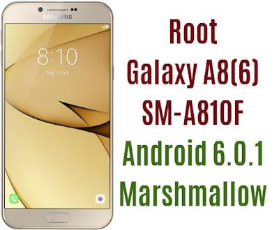 Root Galaxy A8 2016 SM-A810F
