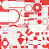 White and Red with Polka Dots Free Printable Kit.