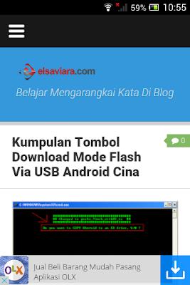 Cara Pasang Iklan Adsense Dan Google DFP Mobile Melayang Di Blog