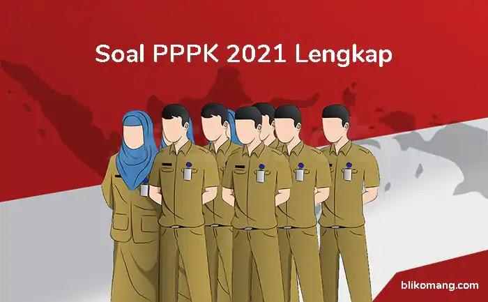 Contoh Soal PPPK 2021 Lengkap