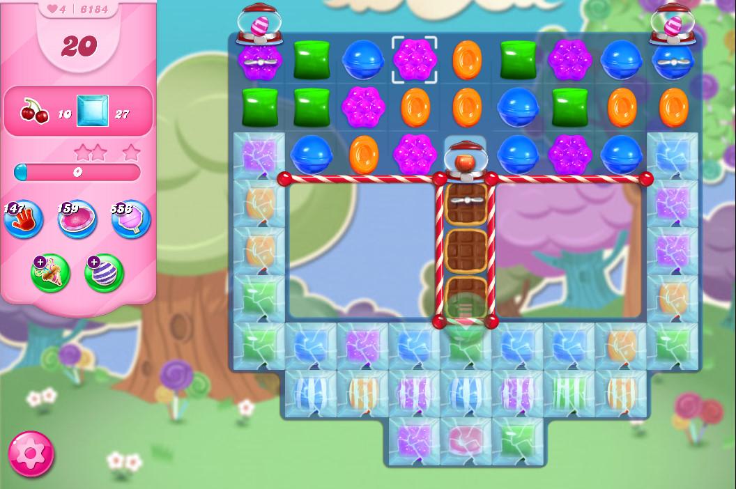 Candy Crush Saga level 6184