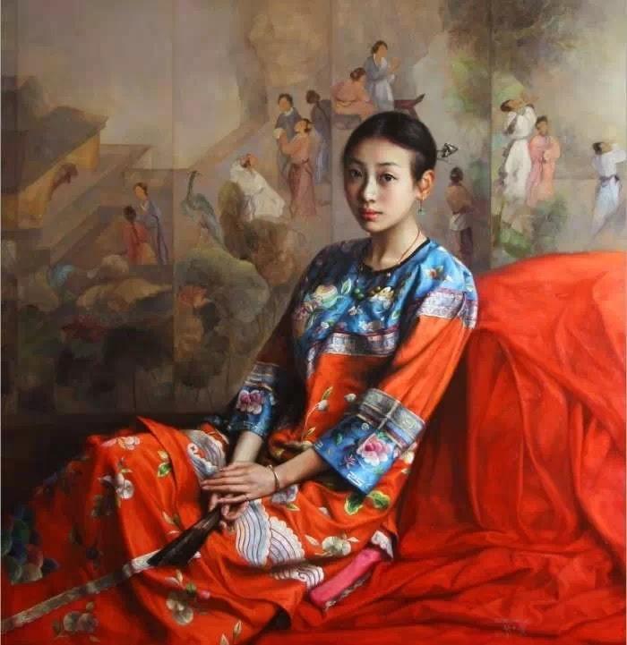 Мастер современного реалистического направления. Zhao Kailin 3