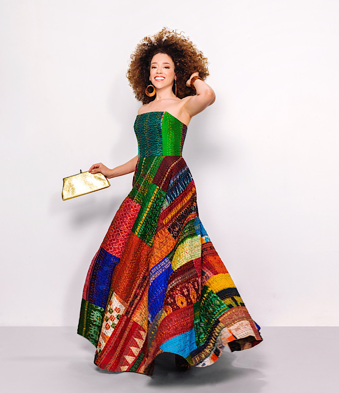 Re:Fashion ...from Quilt to Gown! | oonaballoona by Marcy Harriell