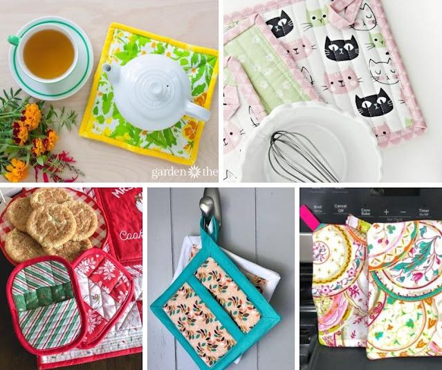 pot holder sewing patterns