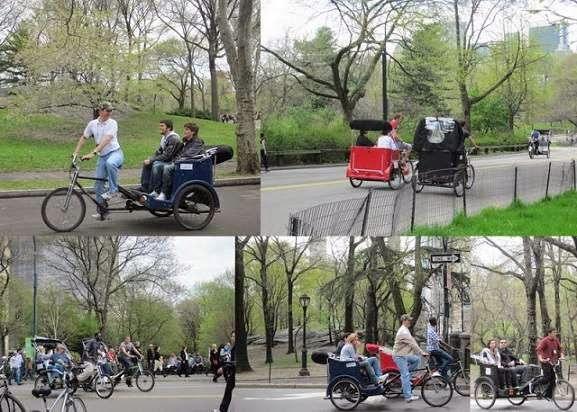 Central Park Pedicab Tours, NYC