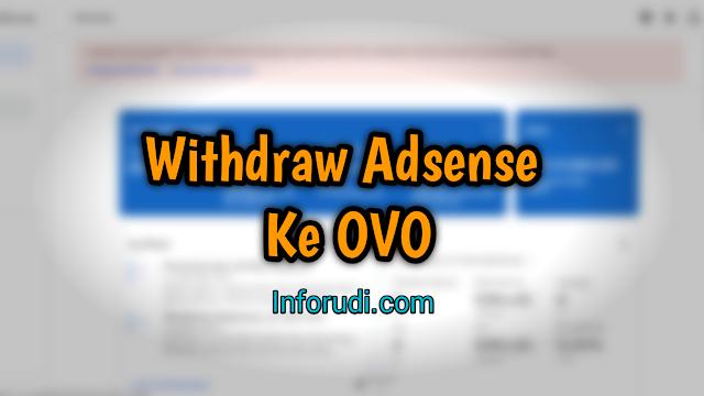 Adsense Ke OVO