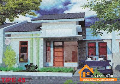 japunan residence rumah murah 369.000 type 45 di magelang