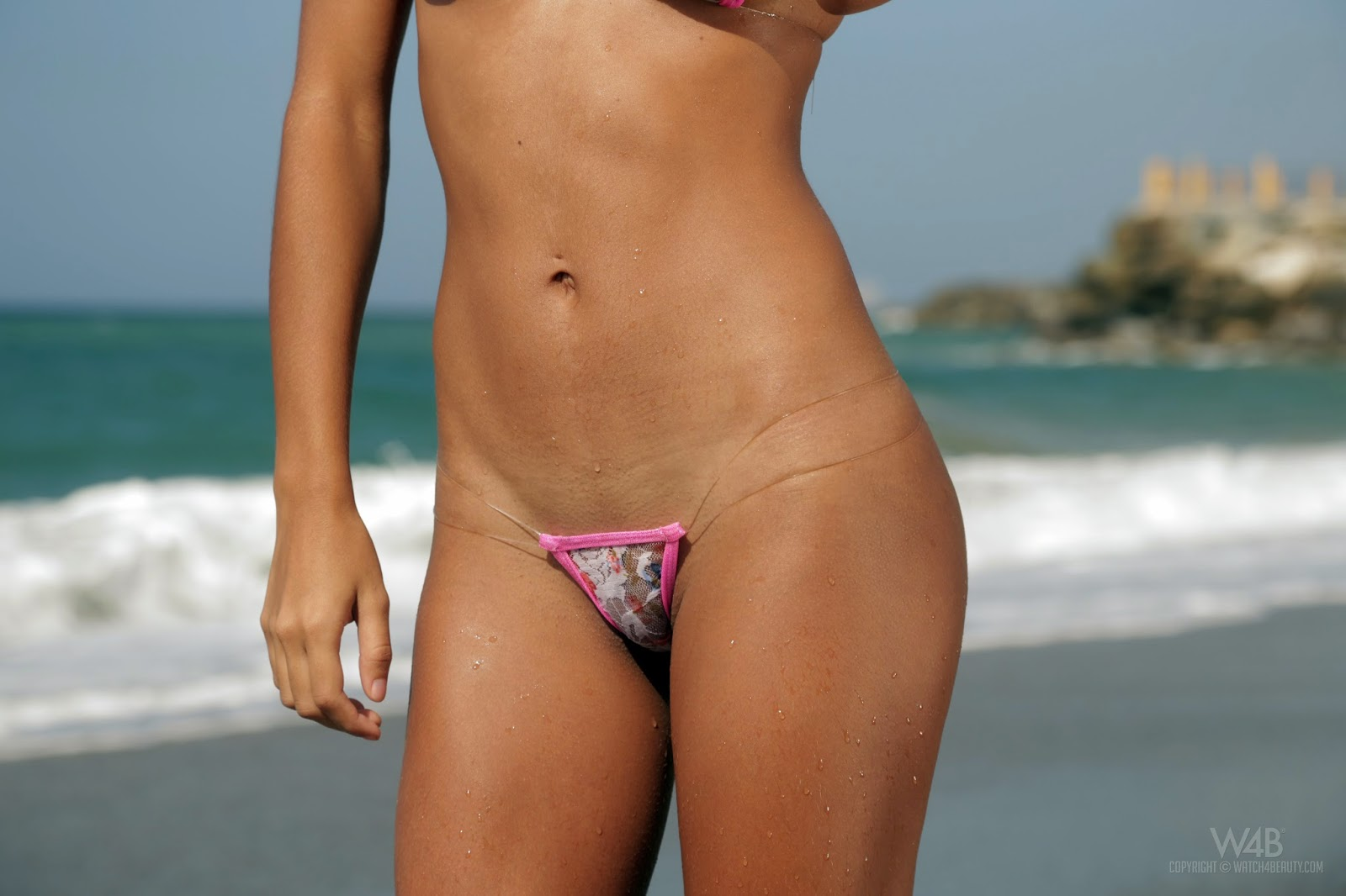 Watch4Beauty Cecilia Mini Bikini Photo Set And HD Video