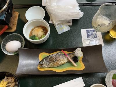 川浦温泉の夕食その2