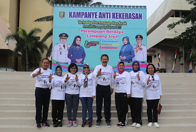 Peduli Anak dan Perempuan, Tiga Tahun Berturut-Turut Lampung Raih Anugerah Parahita Ekapraya Tingkat Utama