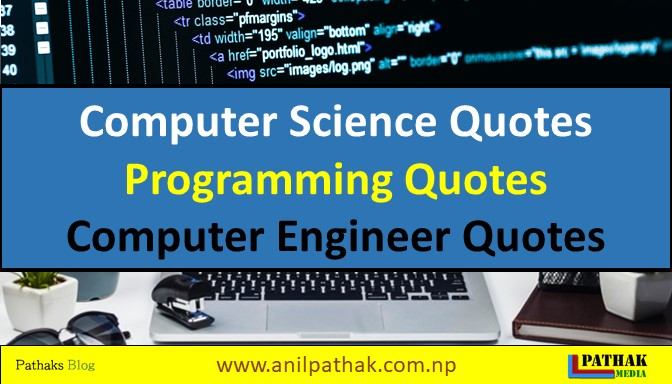 quotes on computer science, programming quotes, computer engineer quotes