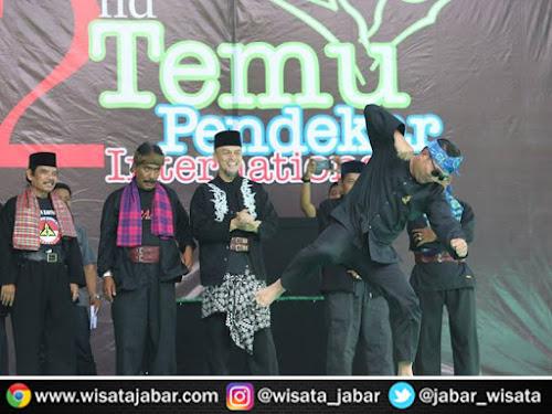Pembukaan Temu Pendekar Internasional di Bandung